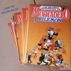 Cómics: LAS MEJORES HISTORIETAS DE MORTADELO Y FILEMÓN, 5 TOMOS, COMPLETA, EDICIONES B NAUTA 1989. Lote 153189430