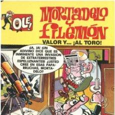 Cómics: MORTADELO Nº 7. VALOR Y..AL TORO! . EDICIONES B. 1993. C-14. Lote 153265630