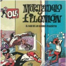 Cómics: MORTADELO Nº 9. EL CASO DE LOS SEÑORES PEQUEÑITOS . EDICIONES B. 1993. C-14. Lote 153265794