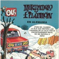 Cómics: MORTADELO Nº 10. EN ALEMANIA . EDICIONES B. 1993. C-14. Lote 153265954