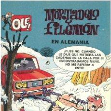 Cómics: MORTADELO Nº 10. EN ALEMANIA . EDICIONES B. 1993. C-14. Lote 153266642