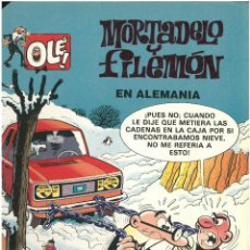 Cómics: MORTADELO Nº 10. EN ALEMANIA . EDICIONES B. 1993. C-14. Lote 153266742