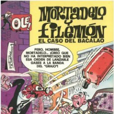 Cómics: MORTADELO Nº 11. EL CASO DEL BACALAO . EDICIONES B. 1993. C-14. Lote 153266906