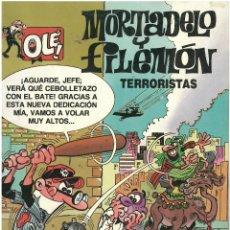 Cómics: MORTADELO Nº 13. TERRORISTAS . EDICIONES B. 1993. C-14. Lote 153267246