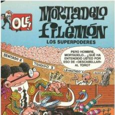 Cómics: MORTADELO Nº 14. LOS SUPERPODERES . EDICIONES B. 1993. C-14. Lote 153267574