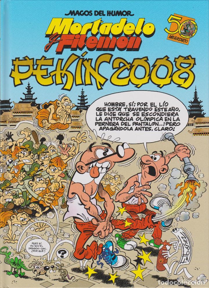 MORTADELO Y FILEMÓN. PEKÍN 2008 (Tebeos y Comics - Ediciones B - Humor)