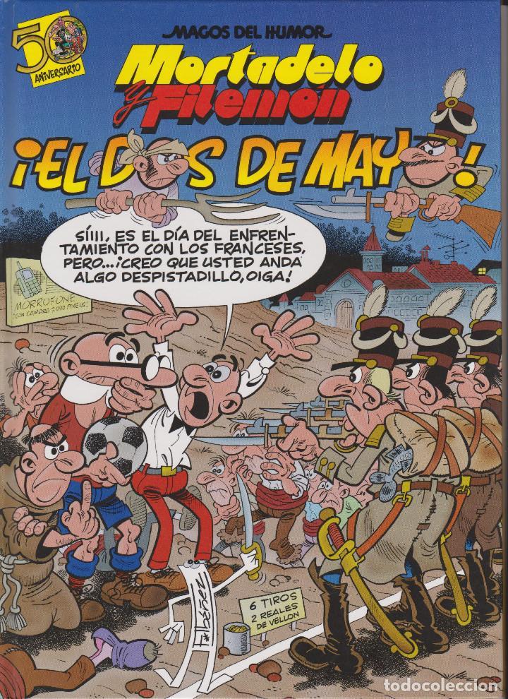 MORTADELO Y FILEMÓN. EL DOS DE MAYO MAGOS DEL HUMOR Nº 122 (Tebeos y Comics - Ediciones B - Humor)