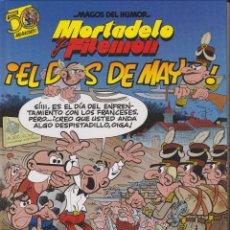 Cómics: MORTADELO Y FILEMÓN. EL DOS DE MAYO MAGOS DEL HUMOR Nº 122. Lote 153454610