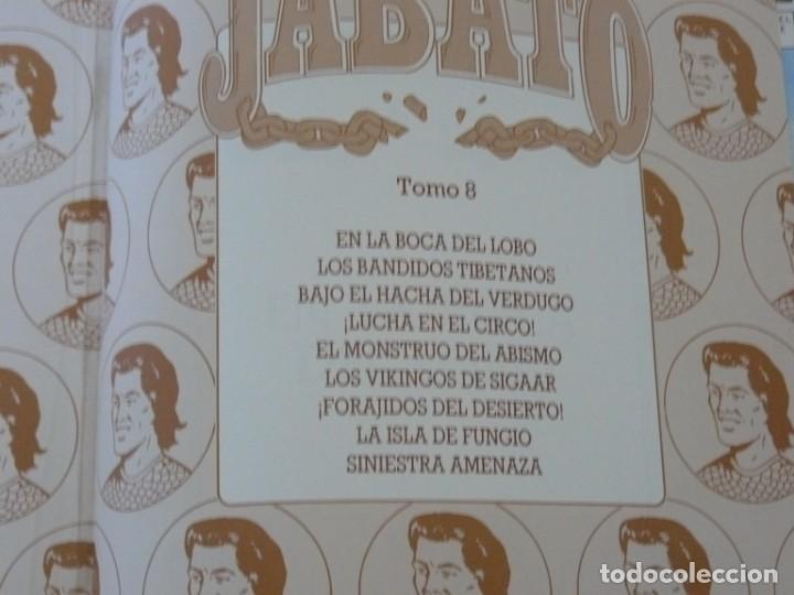 Cómics: EL JABATO EDICIÓN HISTÓRICA TOMO 8 EDICIONES B 1991 - Foto 2 - 153567174