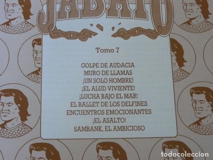 Cómics: EL JABATO EDICIÓN HISTÓRICA TOMO 7 EDICIONES B 1991 - Foto 2 - 153568502