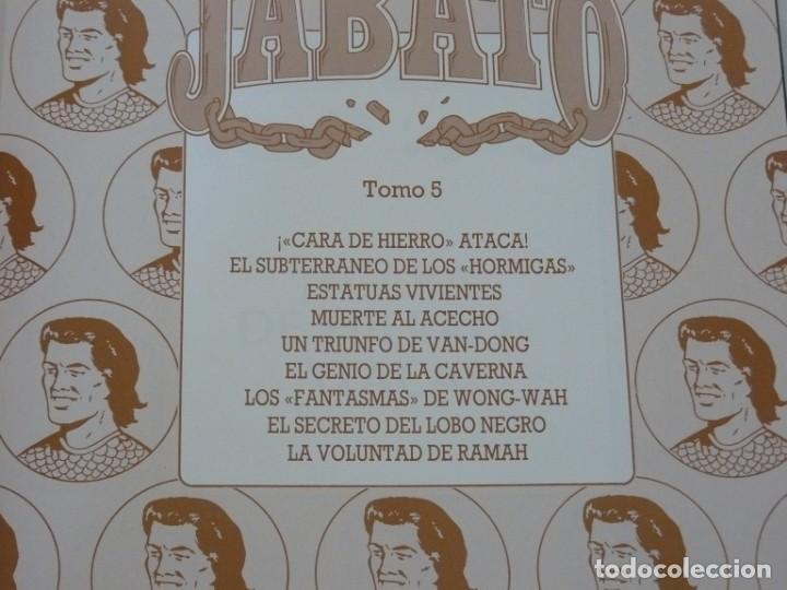 Cómics: EL JABATO EDICIÓN HISTÓRICA TOMO 5 EDICIONES B 1991 - Foto 2 - 153569866