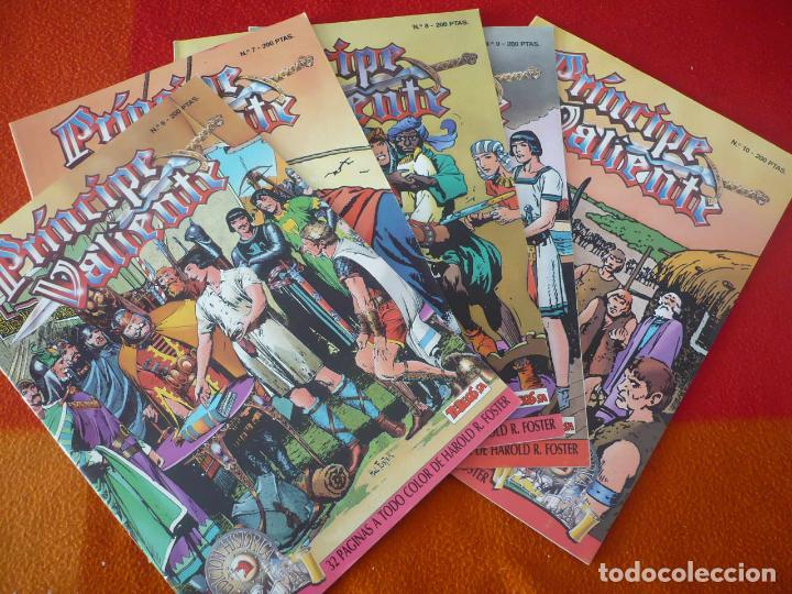 EL PRINCIPE VALIENTE 6, 7, 8, 9, Y 10 EDICION HISTORICA (FOSTER) ¡BUEN ESTADO! TEBEOS SA EDICIONES B (Tebeos y Comics - Ediciones B - Otros)