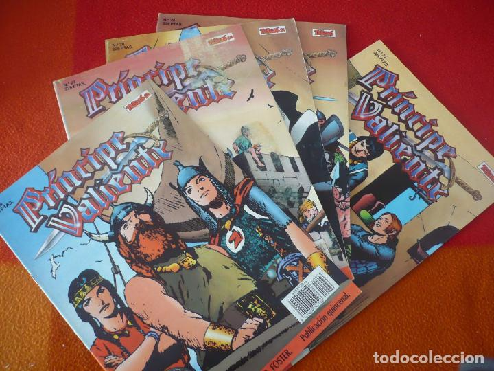 EL PRINCIPE VALIENTE 26, 27, 28, 29 Y 30 EDICION HISTORICA ¡BUEN ESTADO! TEBEOS SA EDICIONES B (Tebeos y Comics - Ediciones B - Otros)