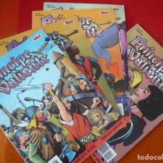 Cómics: EL PRINCIPE VALIENTE 31, 32, 33, 34 Y 35 EDICION HISTORICA ¡BUEN ESTADO! TEBEOS SA EDICIONES B . Lote 153624902