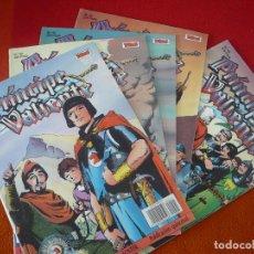 Cómics: EL PRINCIPE VALIENTE 41, 42, 43, 44 Y 45 EDICION HISTORICA ¡BUEN ESTADO! TEBEOS SA EDICIONES B. Lote 153625014