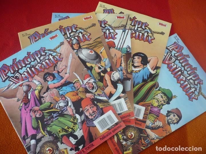 EL PRINCIPE VALIENTE 51, 52, 53, 54 Y 55 EDICION HISTORICA ¡BUEN ESTADO! TEBEOS SA EDICIONES B (Tebeos y Comics - Ediciones B - Otros)