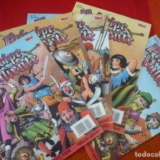 Cómics: EL PRINCIPE VALIENTE 51, 52, 53, 54 Y 55 EDICION HISTORICA ¡BUEN ESTADO! TEBEOS SA EDICIONES B . Lote 153625294