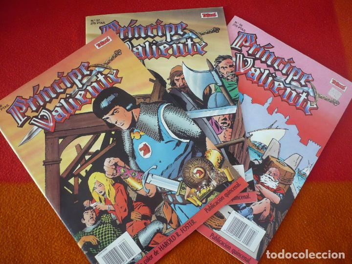 EL PRINCIPE VALIENTE 56, 57 Y 58 EDICION HISTORICA ( FOSTER ) ¡BUEN ESTADO! TEBEOS SA EDICIONES B (Tebeos y Comics - Ediciones B - Otros)