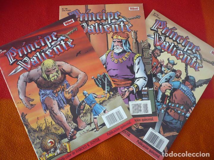 EL PRINCIPE VALIENTE 59, 60 Y 61 EDICION HISTORICA ( FOSTER ) ¡BUEN ESTADO! TEBEOS SA EDICIONES B (Tebeos y Comics - Ediciones B - Otros)