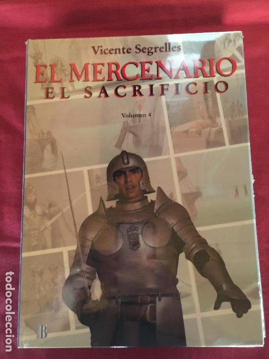 Cómics: EDICIONES B EL MERCENARIO COMPLETA EN MUY BUEN ESTADO REF.CF-2 - Foto 4 - 154465238