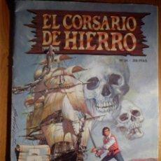 Cómics: COMIC - TEBEO - EL CORSARIO DE HIERRO - Nº 34 - EL HECHIZO DE OGAMBO - EDICIONES B 1987. Lote 154624714