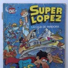 Comics: SUPER LÓPEZ – LA CAJA DE PANDORA – COLECCIÓN OLÉ – EDICIONES B 1987. Lote 155842130