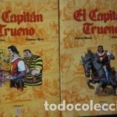 Cómics: EL CAPITAN TRUENO. 2 TOMOS - MORA, VICTOR. EDICIONES B. Lote 50411367