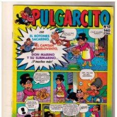 Cómics: PULGARCITO - EDICIONES B NÚMERO 13. Lote 155964494