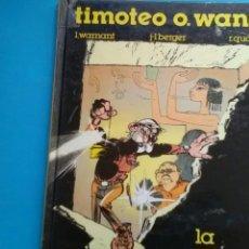 Cómics: TIMOTEO O.WANG . LA ESTATUA VIVIENTE .WARNANT- BERGER -QUARRÉ ED.B. Lote 156114528