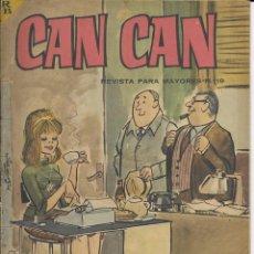 Cómics: CAN CAN REVISTA PARA MAYORES. Nº 19 FEBRERO 1964. Lote 156217450