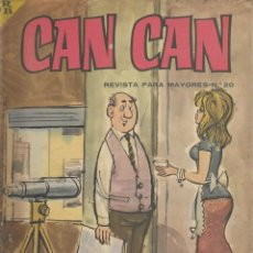 Cómics: CAN CAN REVISTA PARA MAYORES. Nº 20 MARZO 1964. Lote 156218026