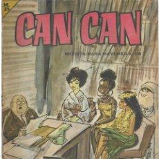 Cómics: CAN CAN REVISTA PARA MAYORES. Nº 28 ABRIL 1964. Lote 156221042