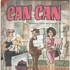 Cómics: CAN CAN REVISTA PARA MAYORES. Nº 36 JUNIO 1964. Lote 156233142