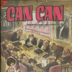 Cómics: CAN CAN REVISTA PARA MAYORES. Nº 40 JULIO 1964. Lote 156233822