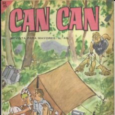 Cómics: CAN CAN REVISTA PARA MAYORES. Nº 46 AGOSTO 1964. Lote 156238406