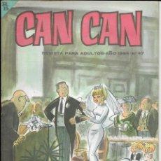 Cómics: CAN CAN REVISTA PARA MAYORES. Nº 47 SEPTIEMBRE 1964. Lote 156239390