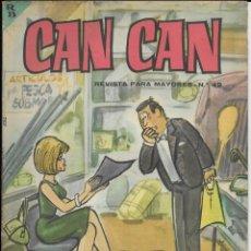 Cómics: CAN CAN REVISTA PARA MAYORES. Nº 49 SEPTIEMBRE 1964. Lote 156240002