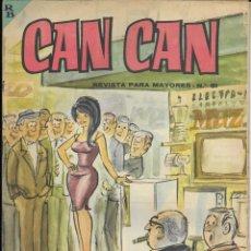 Cómics: CAN CAN REVISTA PARA MAYORES. Nº 51 OCTUBRE 1964. Lote 156241698