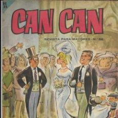 Cómics: CAN CAN REVISTA PARA MAYORES. Nº 56 NOVIEMBRE 1964. Lote 156244382