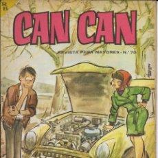Cómics: CAN CAN REVISTA PARA MAYORES. Nº 70 FEBRERO 1965. Lote 156253790