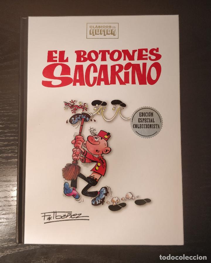 ESPECIAL COLECCIONISTA EL BOTONES SACARINO CLASICOS DEL HUMOR RBA; TAPA DURA RBA (Tebeos y Comics - Ediciones B - Humor)