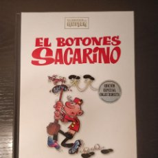 Cómics: ESPECIAL COLECCIONISTA EL BOTONES SACARINO CLASICOS DEL HUMOR RBA; TAPA DURA. Lote 205311727