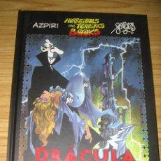 Cómics: HORREIBOLS AND TERRIFICS BOOKS: DRÁCULA (AZPIRI - FORGES). Lote 156570570