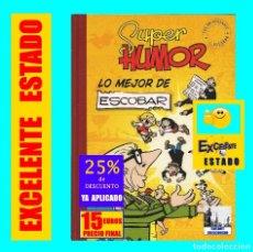 Cómics: SUPER HUMOR NÚMERO 5 - LO MEJOR DE ESCOBAR - ZIPI ZAPE CARPANTA PULGARCITO DOÑA TULA BLASA TOMASA. Lote 156784622