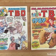 Cómics: LOTE 2 ALMANAQUE TBO AÑOS 1989-1990 (SE PUEDEN PEDIR SUELTOS) - EDICIONES B - GCH. Lote 156818574