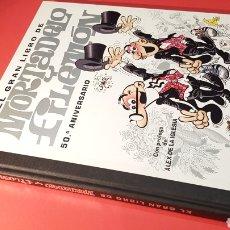 Cómics: EXCELENTE ESTADO EL GRAN LIBRO DE MORTADELO Y FILEMON 50 ANIVERSARIO EDICIONES B. Lote 156879694