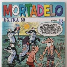 Cómics: CÓMIC MORTADELO EXTRA 60 – EDICIONES B – 1995 – COMO NUEVO. Lote 156891234