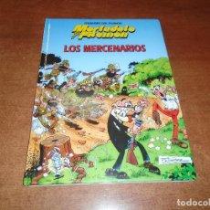 Cómics: GRANDES DEL HUMOR Nº 7. MORTADELO Y FILEMÓN. LOS MERCENARIOS. ED. B 1997 TAPA DURA. Lote 157007930