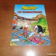 Cómics: GRANDES DEL HUMOR Nº 5. MORTADELO Y FILEMÓN. LOS GUARDAESPALDAS. ED. B 1997 TAPA DURA. Lote 157008222