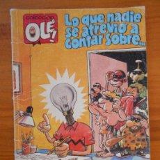 Cómics: LO QUE NADIE SE ATREVIO A CONTAR SOBRE... - COLECCION OLE! Nº 357 - EDICIONES B (R). Lote 157223006